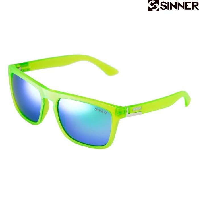 Солнцезащитные очки Sinner THUNDER Cry Matte Lime Green