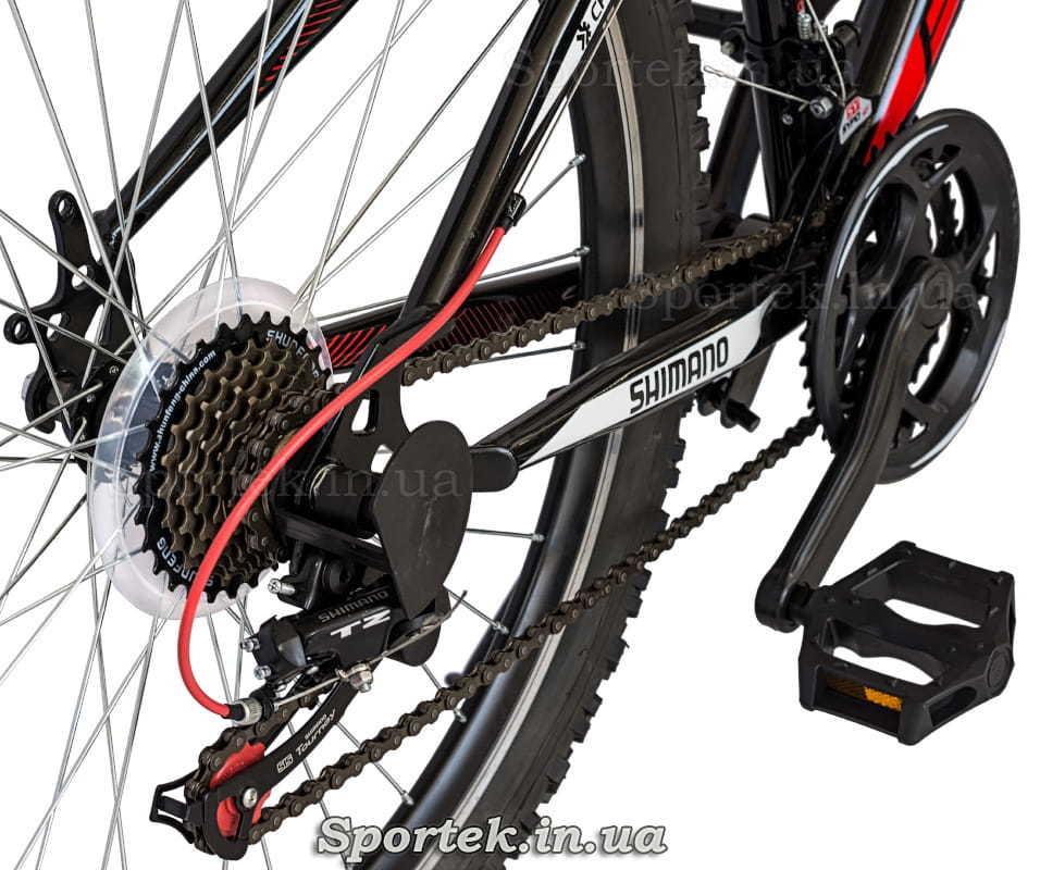 Трансмісія міського велосипеда Formula Nevada