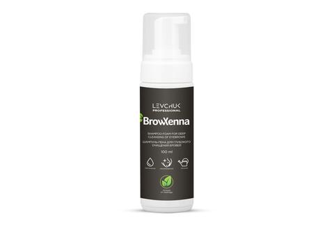 Шампунь-пена для глубокого очищения бровей BrowXenna