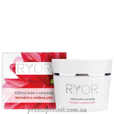 Ryor Cream With Ceramides - Питательный крем с церамидами