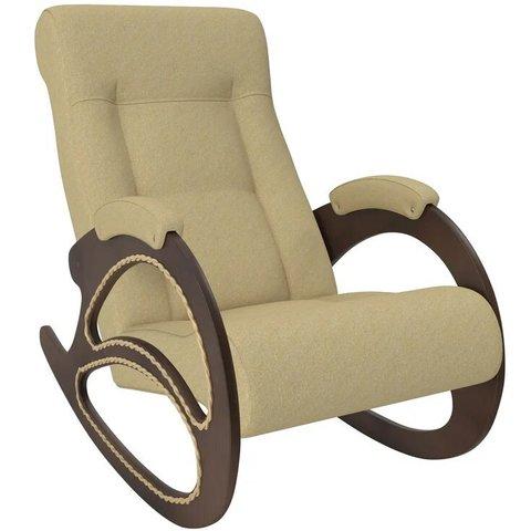 Кресло-качалка Комфорт Модель 4 орех/Malta 03