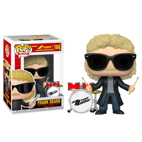 Frank Beard (ZZ Top) Funko Pop! Vinyl Figure