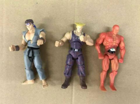 Набор фигурок Street Fighter (3 шт)