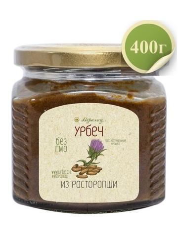 Урбеч из семян расторопши, 230 / 400 г
