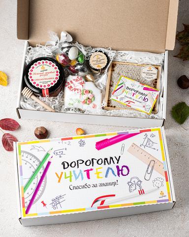 Сладкий подарочный набор учителю HoneyForYou