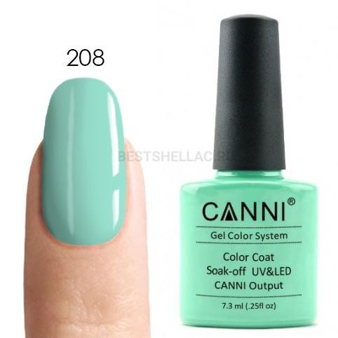 Canni Canni, Гель-лак № 208, 7,3 мл 208.jpg