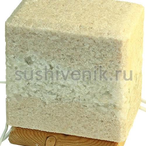 Соляная лампа из Крымской Розовой соли