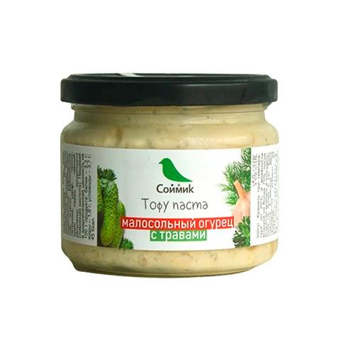 Тофу паста малосольный огурец с травами, 260 г