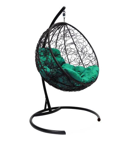 Кресло подвесное Milagro black/green