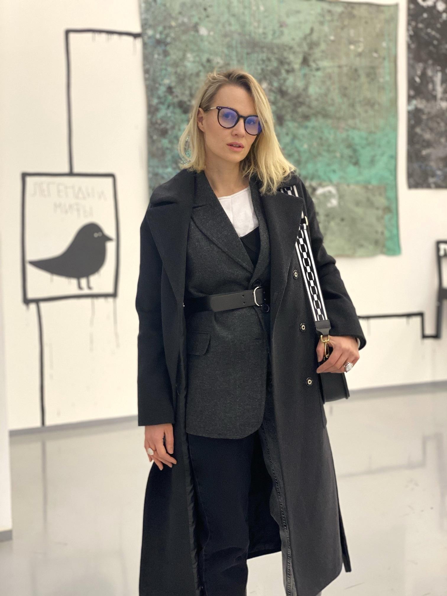 Пальто, Ballerina, RIGA (черный)