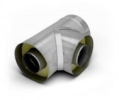 Тройник 90-сэндвич TMF ф115/215, 0,5мм, н/н