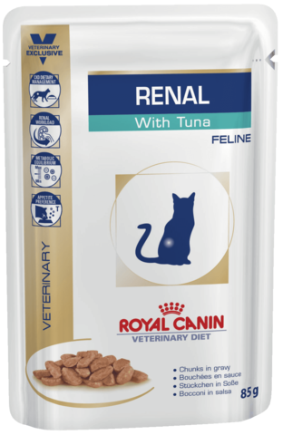 Royal Canin Renal c тунцом для кошек при ХПН