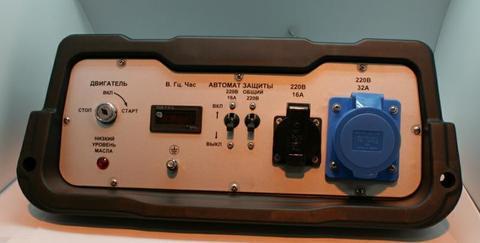 Панель контрольная DDE DPG9551E в сборе (52000-G6AA-14H9)