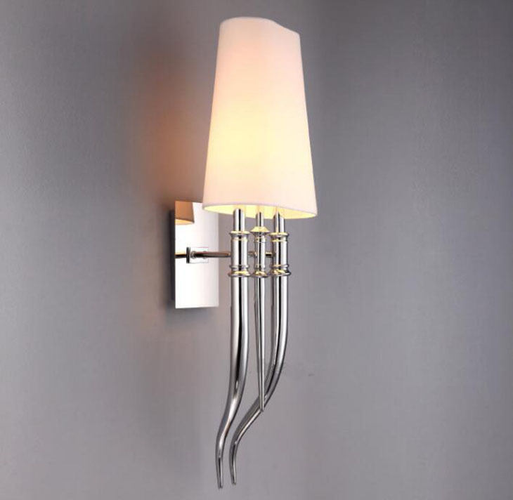 Настенный светильник копия Brunilde by Ipe Cavalli H72 (белый)