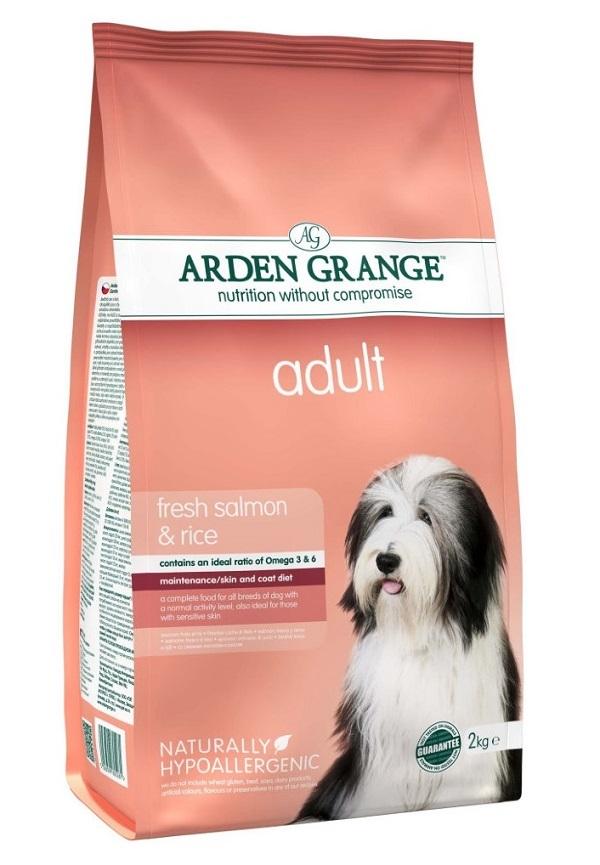 Каталог Сухой корм для взрослых собак, Arden Grange salmon & rice, с лососем и рисом AG605281.jpg