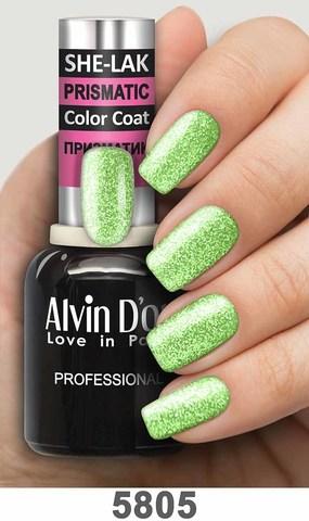 Alvin D`or Лак для ногтей SHE-LAK PRISMATIC  тон 5805 -8мл