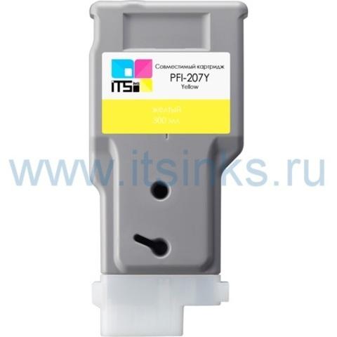 Картридж PFI-207Y 300 мл