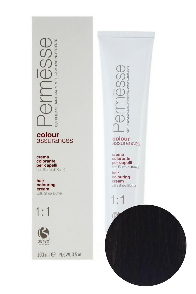 Крем-краска для волос 5.1 Светлый каштан пепельный Permesse, Barex