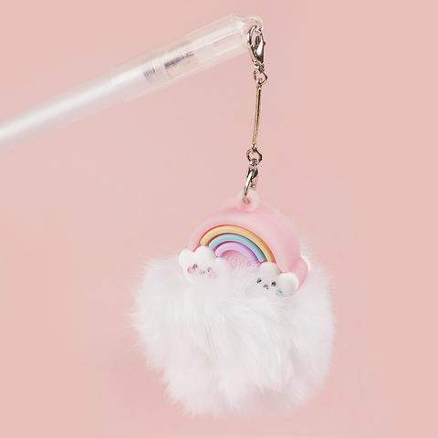 Ручка Rainbow черная гелевая White