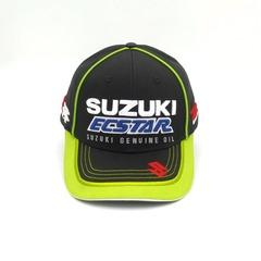 Кепка с вышитым логотипом  SUZUK Ecstar R (Бейсболка Сузуки) черная