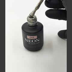 NEON, гель-лак Silver foil № 044 , (12ml) серебристый с эффектом фольги
