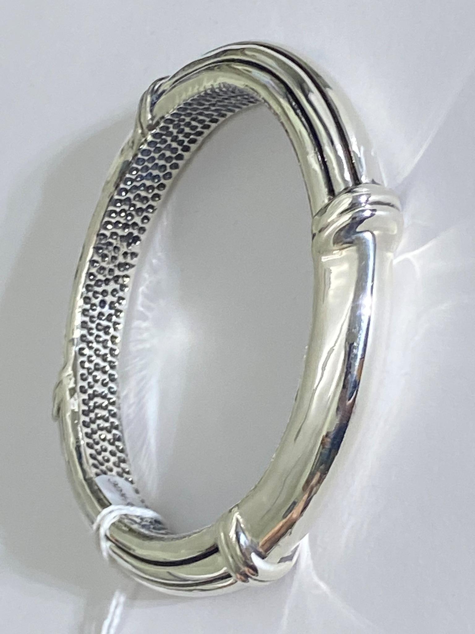 4 полоски (браслет из серебра)