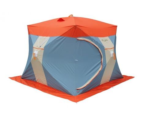 Зимняя палатка НЕЛЬМА КУБ 3 ЛЮКС с внутренним тентом