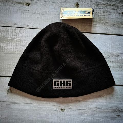 Шапка флисовая с логотипом GHG.