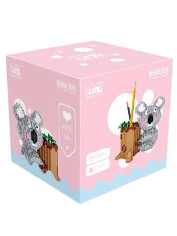 Конструктор LOZ Коала-подставка под ручки 700 деталей NO. 9212 Koala-pen stand iBlockFun Series