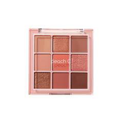 Палетка теней Peach C Soft Mood Eye Shadow Palette Soft Coral 66g