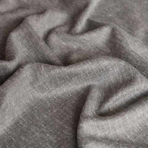 Ткань под лен Кенна темно-серый