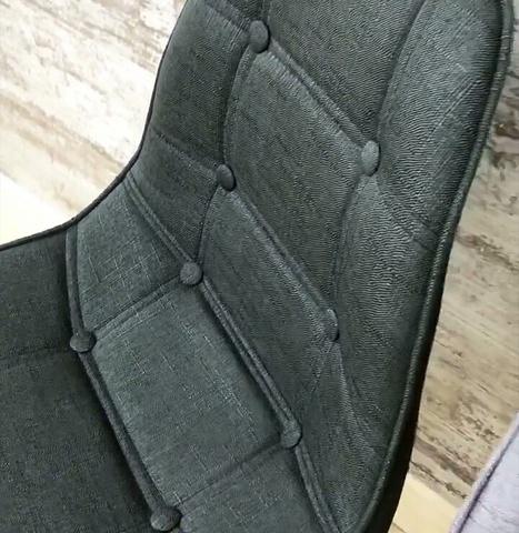 Интерьерный кухонный стул Eames Pulsante / FB / Ткань