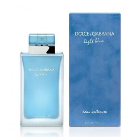 DOLCE & GABBANA: Light Blue Intense женская парфюмерная вода edp, 25мл/50мл/100мл