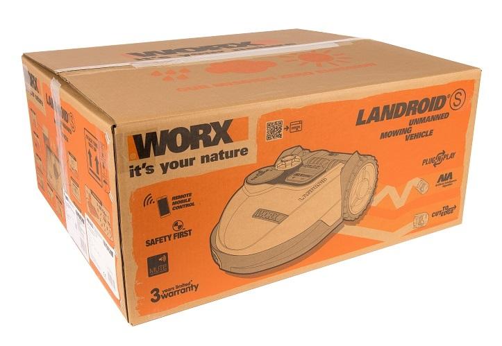 Роботизированная газонокосилка Worx WR100SI Landroid S 390
