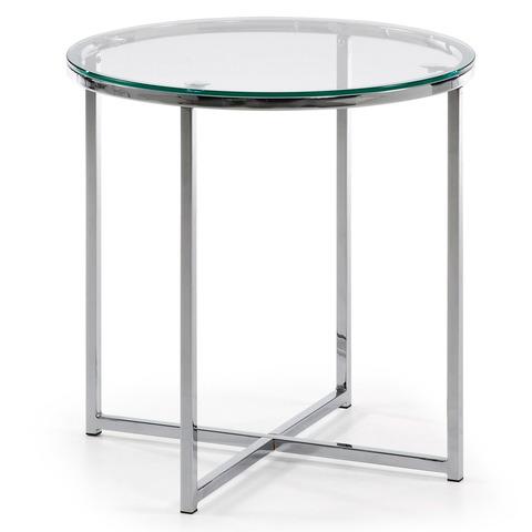 Стеклянный столик Vivid Ø 50 см