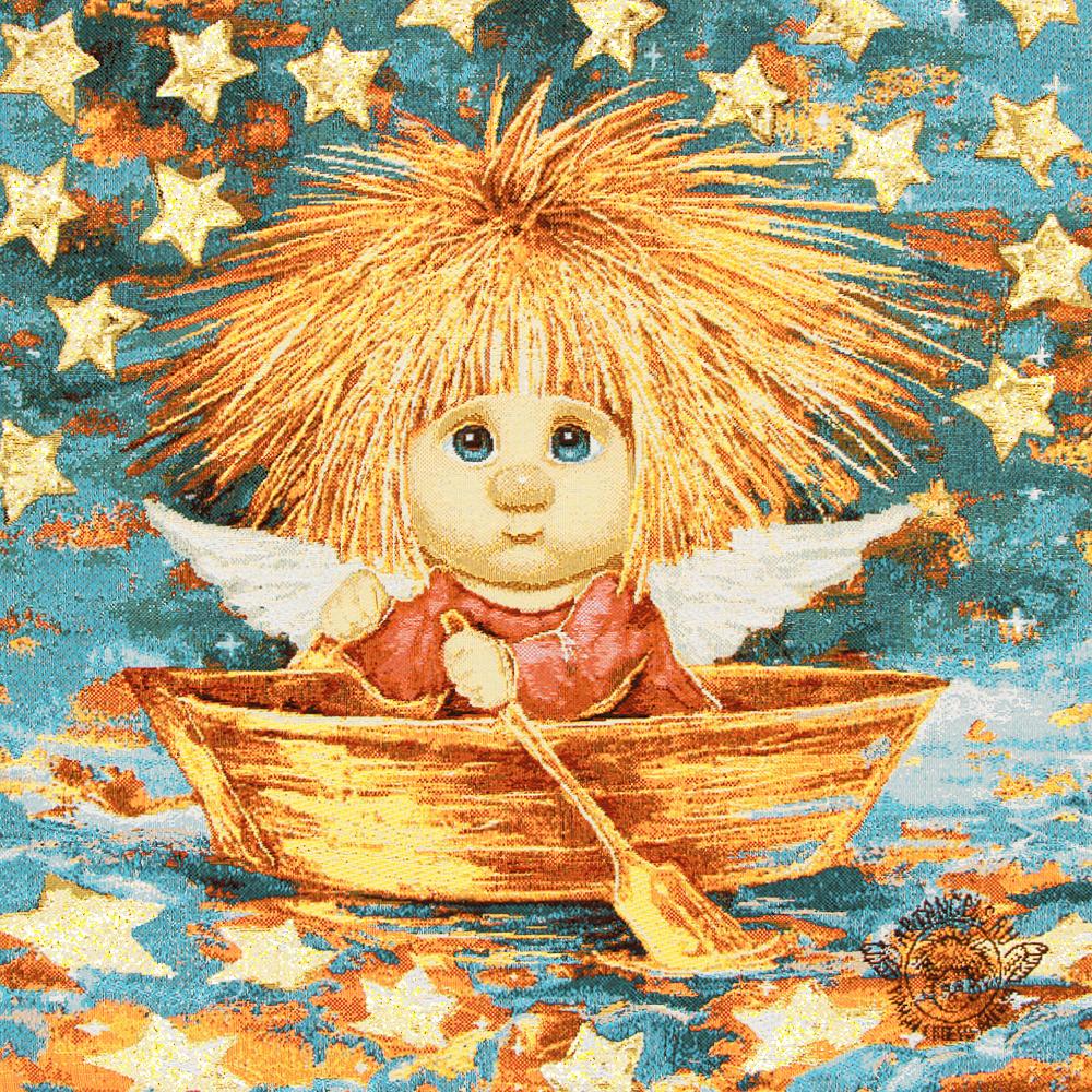 «Звезды исполняют желания» Наволочка гобеленовая 30х30 см