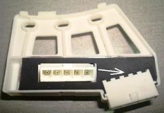 Тахо-датчик мотора (прямой привод) стиральных машин LG 6501kw2001A, зам. 6501KW2001B