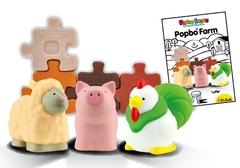 K's Kids Мягкий конструктор Popbo Blocs™ «Ферма 1» (KA649)