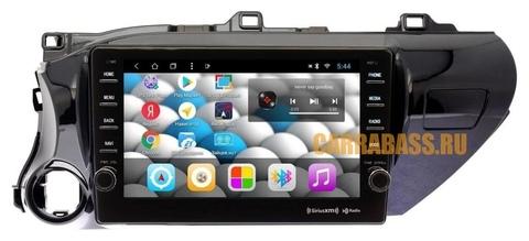 Магнитола для Toyota Hilux (2015-2019) Android 10 4/64 IPS DSP 4G модель CB 1111T9