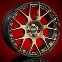 Диск колесный BBS CH-R II 10.5x22 5x120 ET30 CB82.0 satin bronze