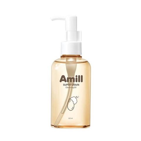 Amill Super Grain Cleansing Oil гидрофильное масло с зерновыми экстрактами