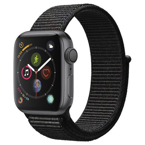 Watch S4 Cellular 40mm Space Grey Al/Black Sport Cellular Loop