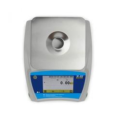 Весы лабораторные/аналитические Mertech 123 АCFJR-150.005 SENSOMATIC TFT, RS232/USB, 150гр, 0,005гр, Ø116 мм, с поверкой, высокоточные