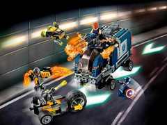 Супер герои Мстители 11506 : Нападение на грузовик ,501д Конструктор
