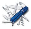 Нож Victorinox Huntsman, 91 мм, 15 функций, полупрозрачный синий