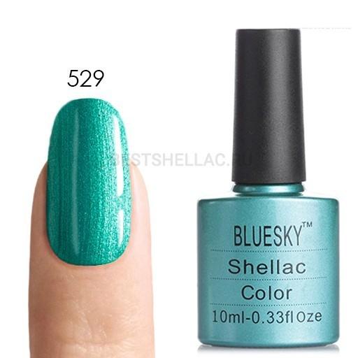 Bluesky Shellac 40501/80501 Гель-лак Bluesky № 40529/80529 Hotski to Tchotchke, 10 мл 529.jpg