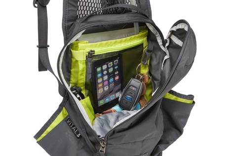 Картинка рюкзак велосипедный Thule Vital 8L DH Hydration Backpack Moroccan Blue - 8
