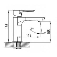 Смеситель KAISER Atrio 60111 для раковины схема