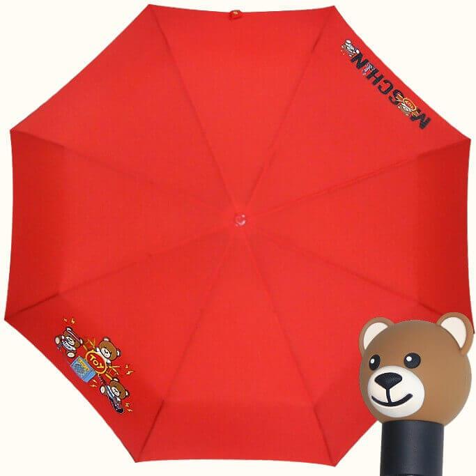 Зонт складной Moschino 8031-C Toy Band