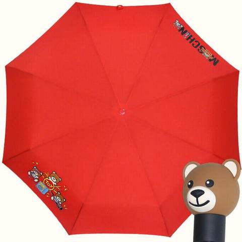 красный зонтик автомат мишка Тэдди